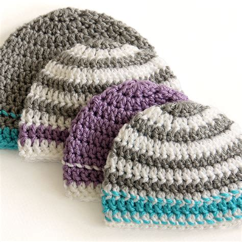 crochet pattern simple hat crochet caps for a cause pattern dabbles babbles