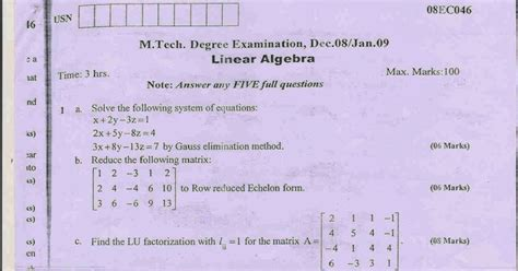 vtu notes for linear integrated circuits linear integrated circuits previous question papers vtu 28 images vtu papers linear