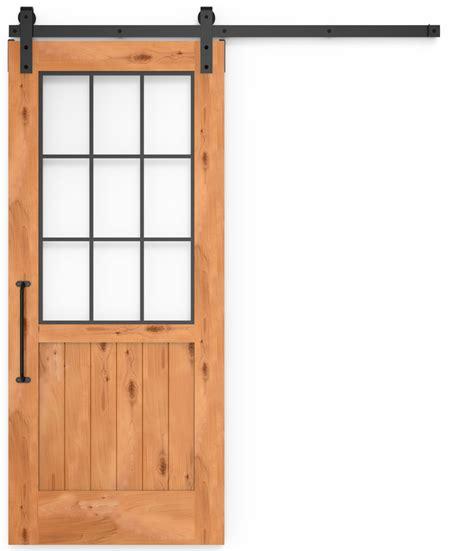 farmhouse french barn door  glass rustica hardware