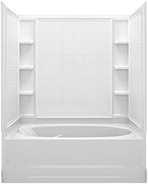 sterling bathtubs and surrounds sterling plumbing 71100122 0 ensemble bath and shower kit