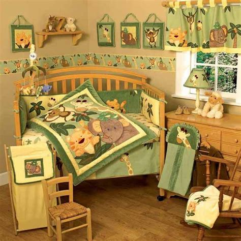 Jungle Decor For Nursery Decorating Theme 20 Room Decorating Ideas