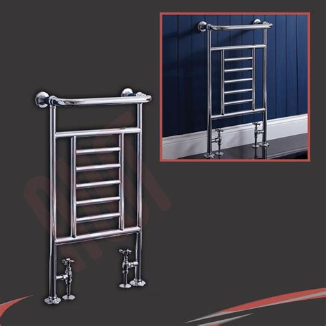 White Towel Rails For Bathrooms by Traditional Bathroom Towel Rails Radiators Chrome White