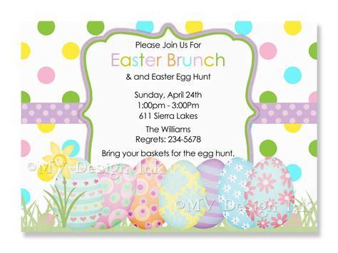 Easter Invitation Template