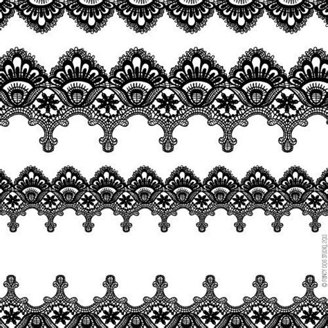 Etching Glass Designs For Kitchen - clip art digital lace borders clipart vector lace instant download clip art search and scrapbook