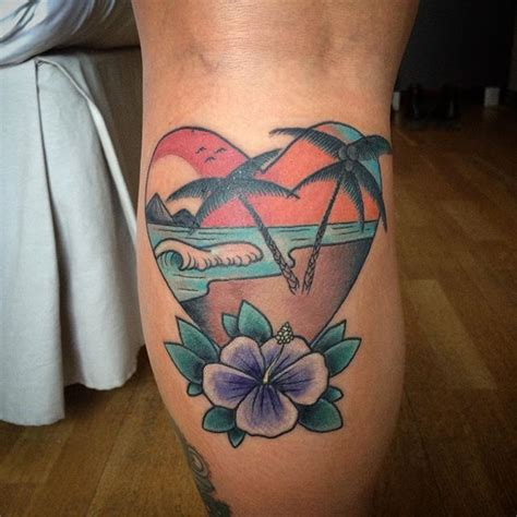 tropical beach tattoo designs 335 best tattoos tropical tiki images on