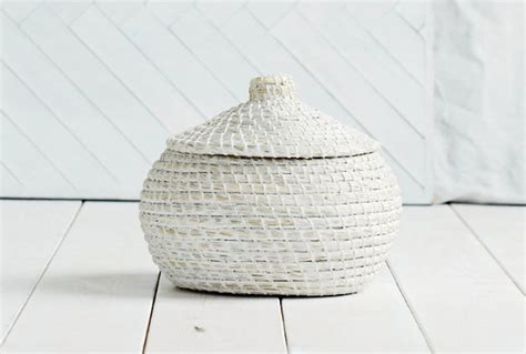 the white company alibaba round basket small absolute home