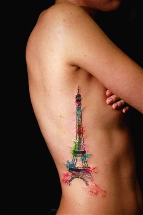 watercolor tattoos paris best 25 eiffel tower ideas on tour