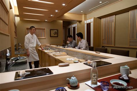Japanese Kitchen Sushi Sushi Mizutani Tiny Kitchen