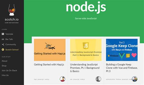 tutorial node js website best free node js tutorials resources for beginners