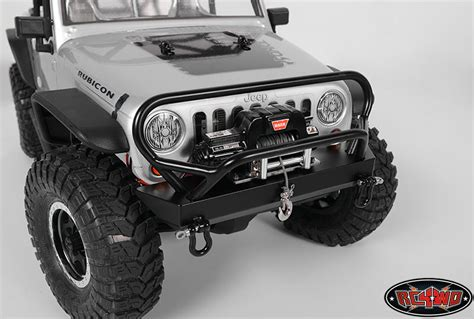 jeep rubicon winch bumper tough armor winch bumper with grill guard for axial jeep