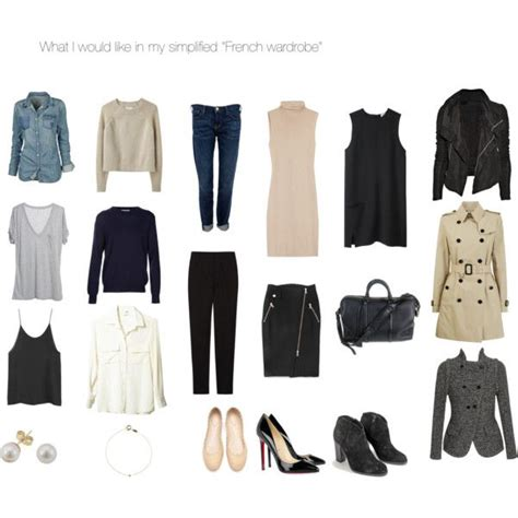 Parisian Chic Capsule Wardrobe by 1000 Images About Parisian Style On