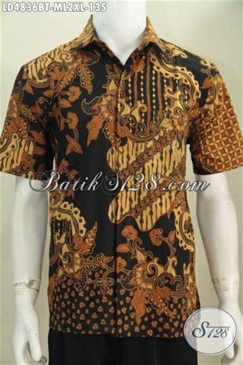 desain baju batik lelaki baju batik formal desain berkelas motif klasik bikin