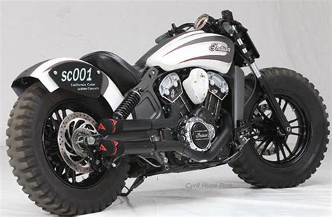 Moto Scout Yamaha by Indian Scout Custom