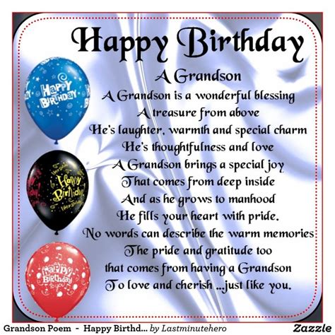 Happy Birthday Grandson Quotes Best 20 Grandson Birthday Quotes Ideas On Pinterest