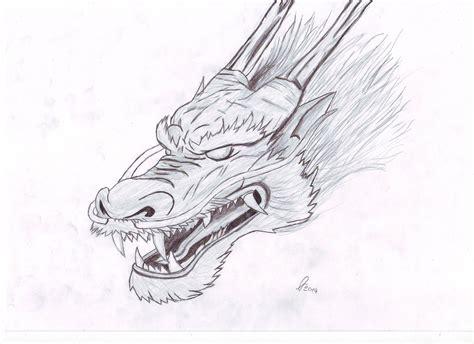 chinese dragon sketch by dashapple on deviantart