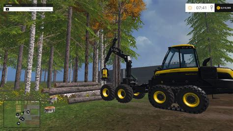 ponsse bear   mod farming simulator   mod