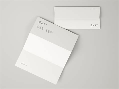 business card letterhead envelope mockup envelope and a4 folded letterhead mockup
