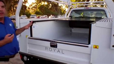 Cover For Truck Bed Retractable Roll Top From Royal Truck Body Youtube