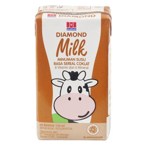 uht milk cereal 125 ml sukanda djaya