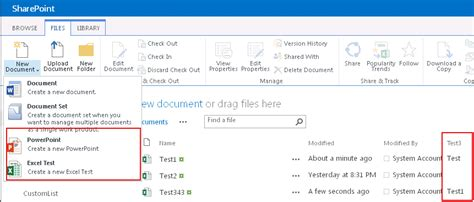sharepoint 2013 document library template upload all your template documents on the shared document