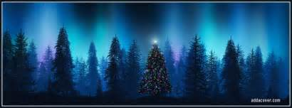 a collection of free christmas tree facebook cover