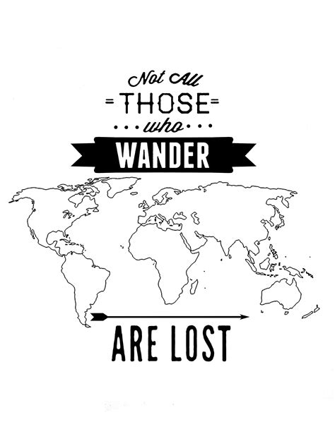Wander Are Lost not all those who wander are lost wallpaper www imgkid