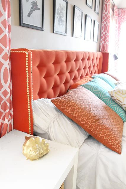 diy tufted wingback headboard grosgrain diy wingback tufted headboard