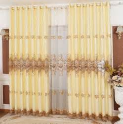 sale luxury curtains for living room embroidered