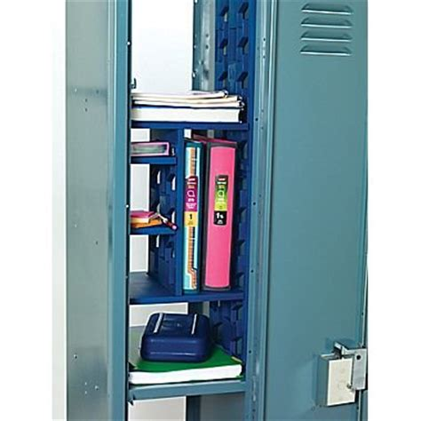 lockerbones ultimate locker organizer royal blue get4school