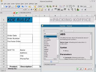 format file kspread free open source spreadsheet programs techsource