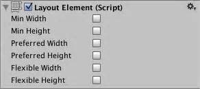 unity layout element tutorial unity manual auto layout