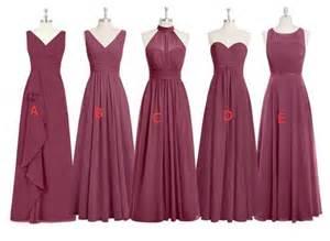 mismatched bridesmaid dresses long bridesmaid gown