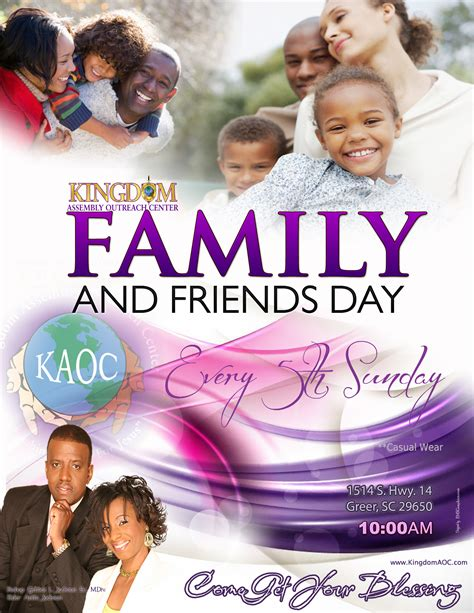 family day flyer template family and friends day church bulletins pictures to pin on pinsdaddy