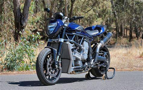 Motorrad Mit 8 Zylinder by Pgm V8 Australiens Achtzylinder Motorrad Autorevue At