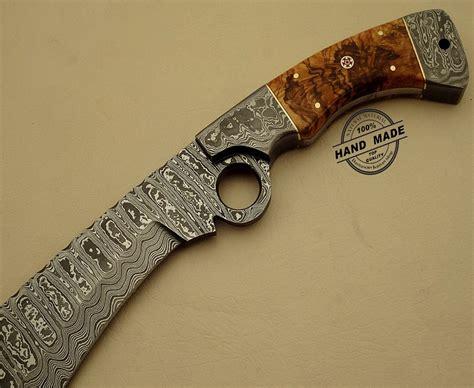 finger knives professional damascus finger knife custom handmade