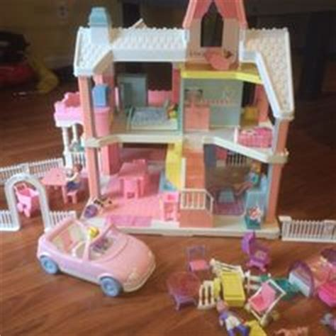 Playskool House by Playskool Doll House Pink And White Doll House