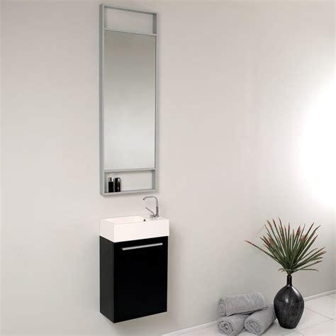 small black bathroom vanity fresca pulito small black modern bathroom vanity w tall