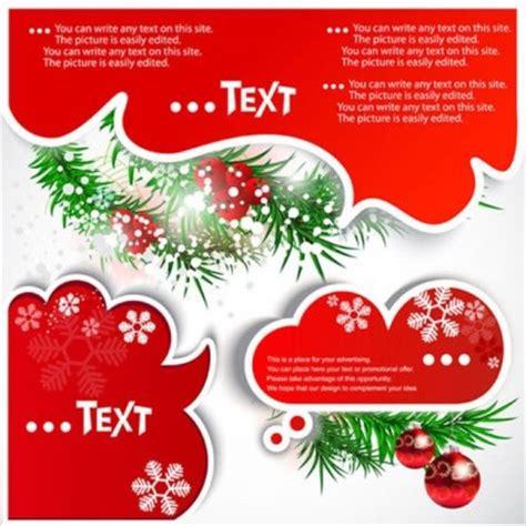 membuat kartu ucapan natal 3d クリスマスの吹き出し フキダシ イラスト無料素材