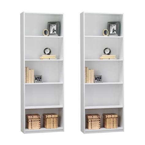 ameriwood 5 shelf bookcase white white shelves archives best shelving units reviews of