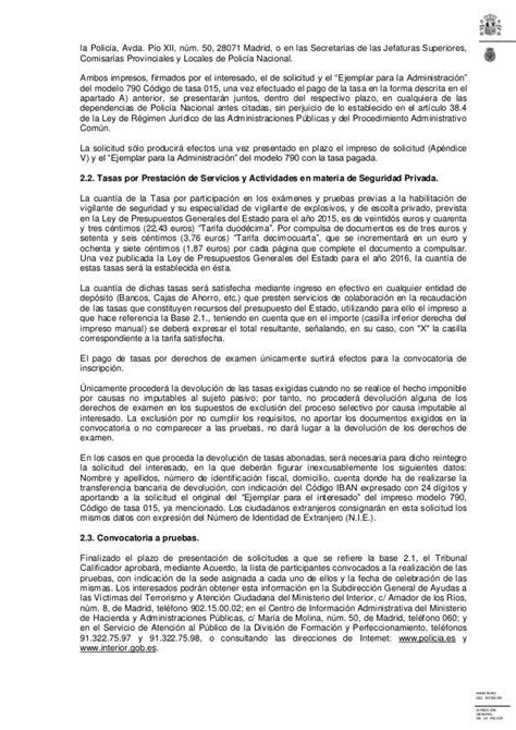 Esta Criminal Record Question Tasa Modelo 790 Codigo 025