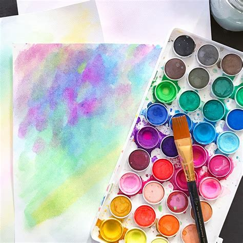 Make Your Own Watercolor Paper - make watercolor paper plus free printables 100