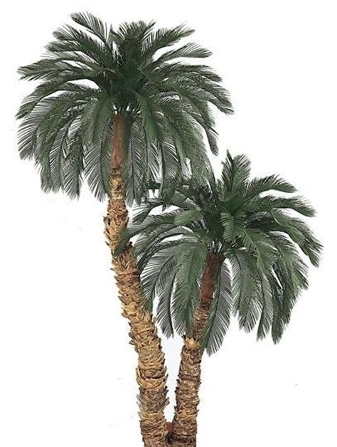 Patio Palm Tree by 8 5 Outdoor Artificial Palm Trees Non Potted A 415 418