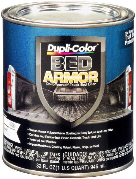 dupli color bed armor dupli color bed armor truck bed liner quart dupbaq2010