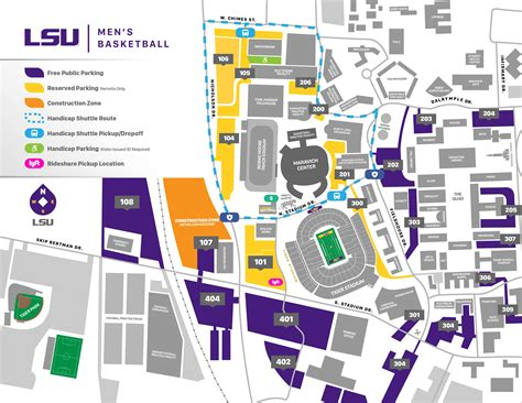 lsu football parking map lsu gameday parking map 2017 gamesworld