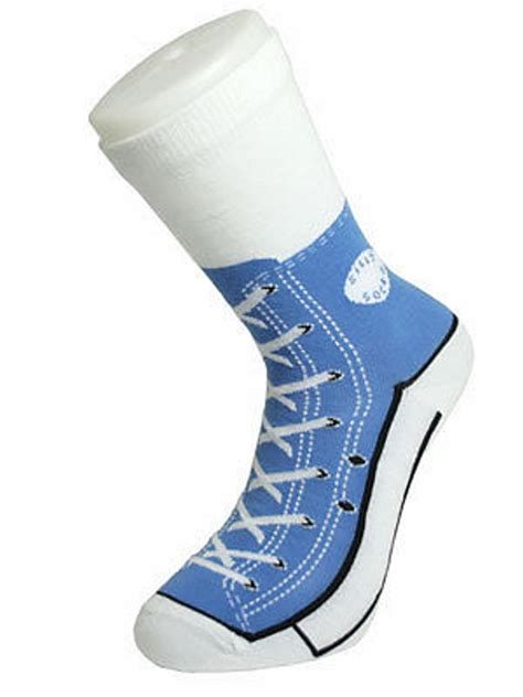 novelty grandad slippers silly socks lace converse novelty sneakers trainer cotton