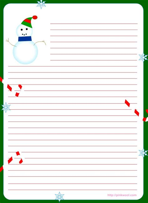 printable christmas paper for letters free printable christmas stationary stationary