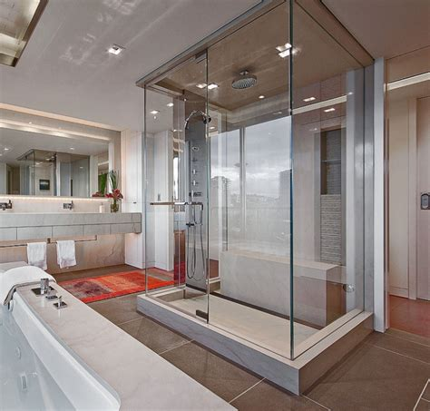 glass enclosed showers a look at some glass enclosed showers from houzz com