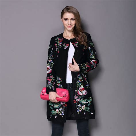 Bordir Jacket popular embroidery coat buy cheap embroidery coat lots