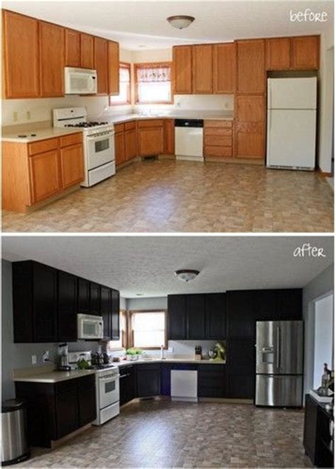 Diy Gel Stain Kitchen Cabinets | gel stain kitchen cabinet makeover diy furniture ideas