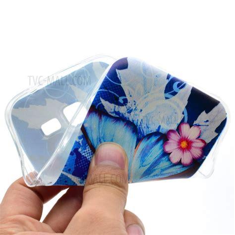 Softcase Shining Samsung J210 J2 2016 5 0 Inchi Ultrathin Silikon List patterned tpu soft for samsung galaxy j3 2016 j310 j3 blue butterfly and flowers tvc
